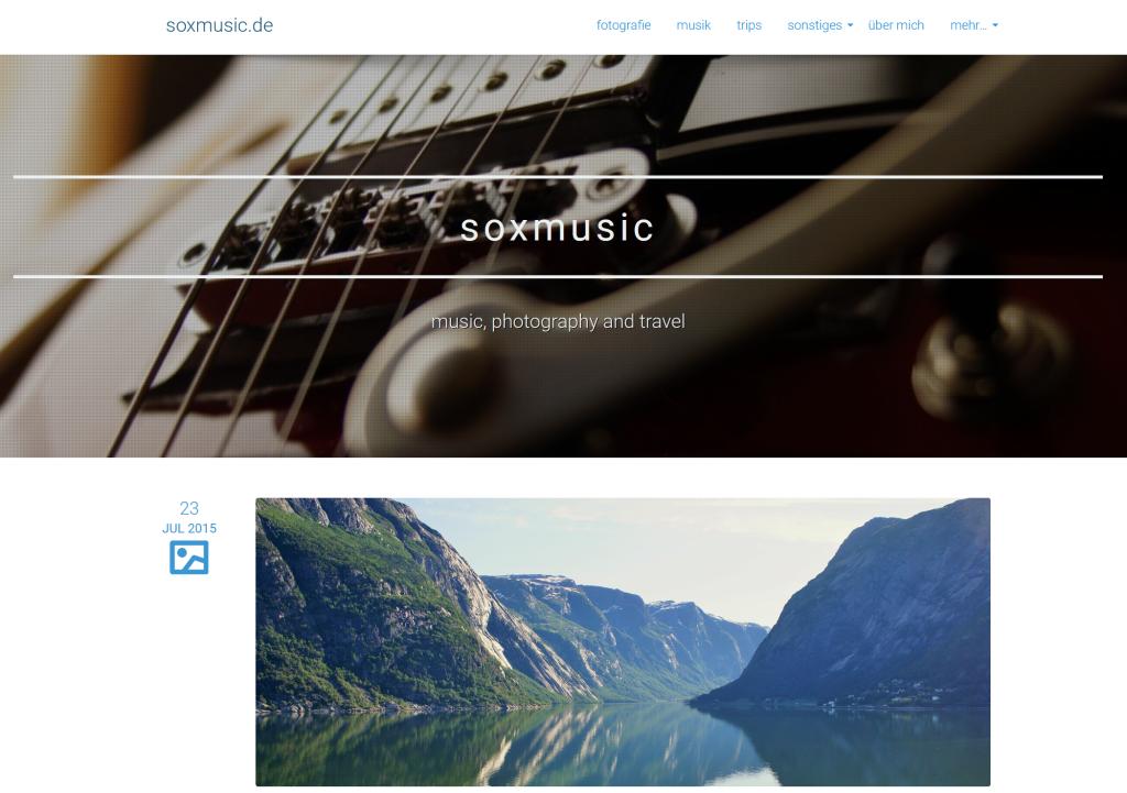 website soxmusix